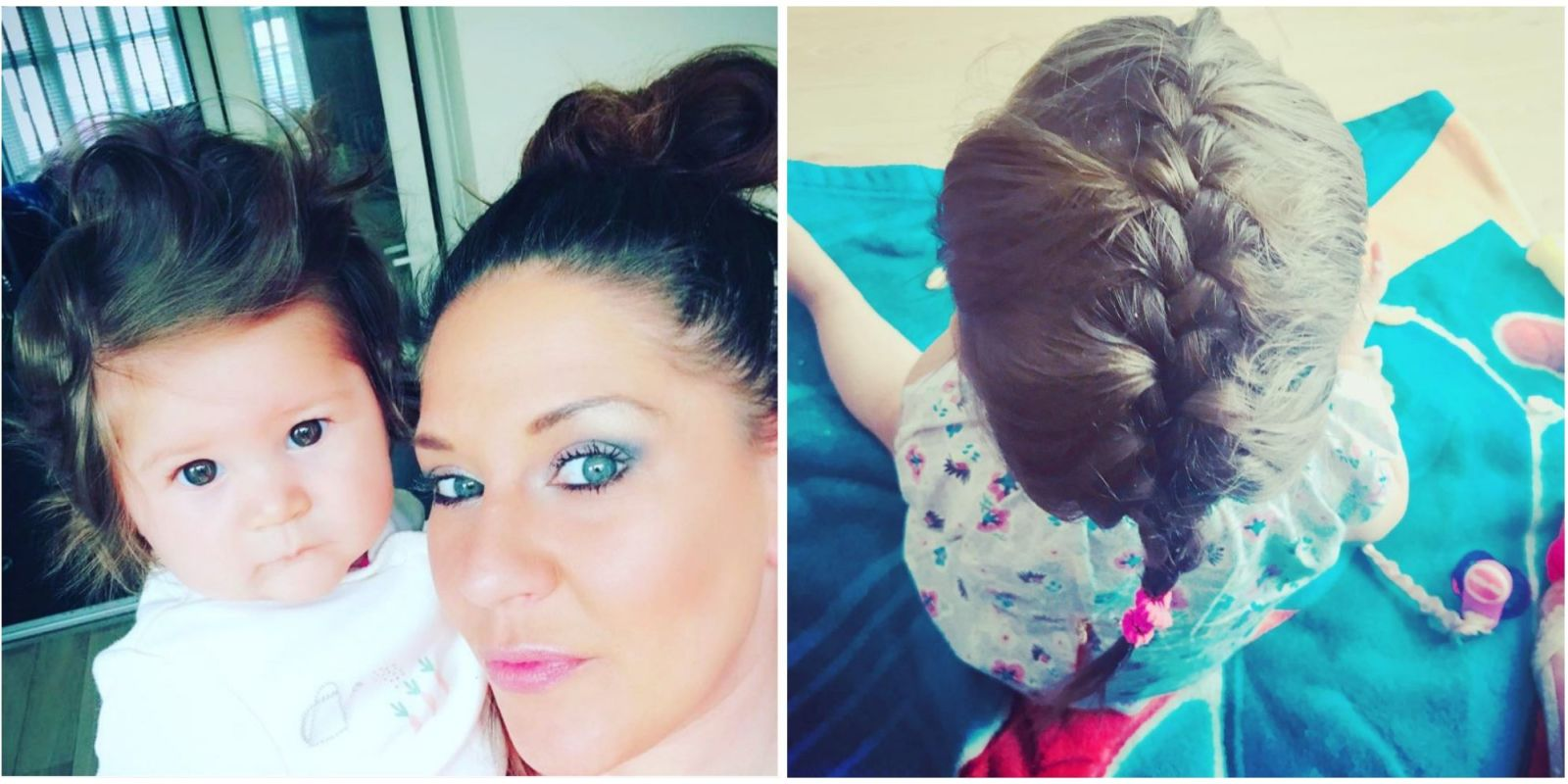 Baby Hair Styles Braids: Adorable 9-Month-Old Baby Has Hair Long Enough To Braid