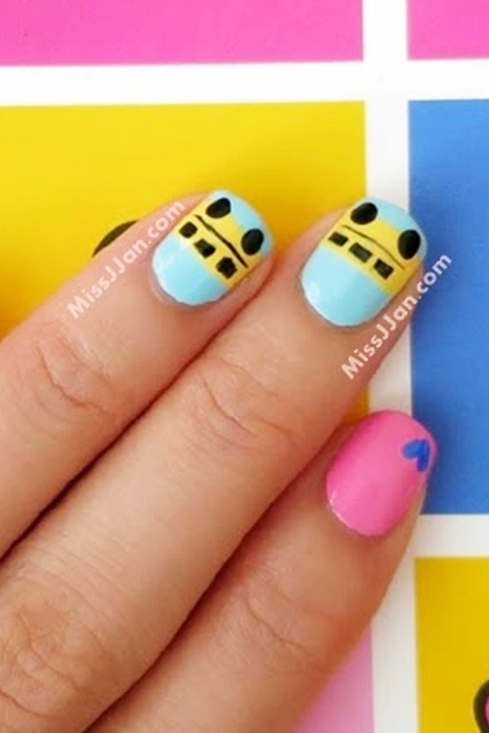 10 cute back to school nails best nail art design ideas for school prinsesfo Choice Image