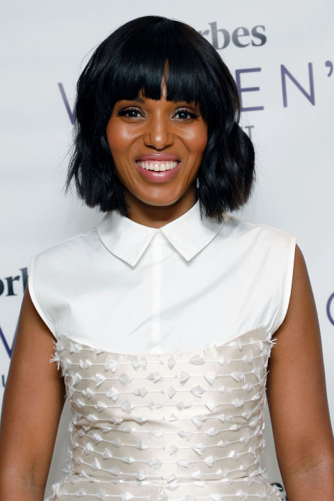 12 best hairstyles with bangs celebrity haircuts with bangs kerry washington urmus