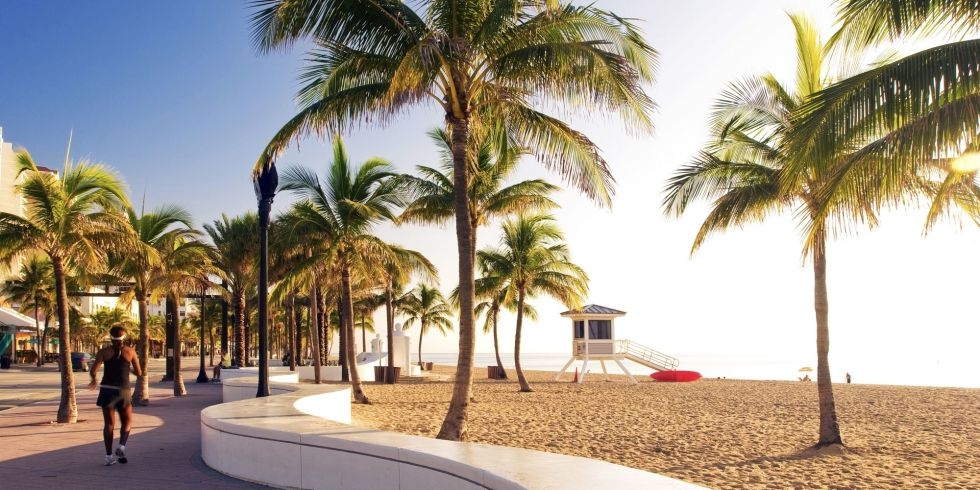 Flights to Fort Lauderdale have a median price of $200.