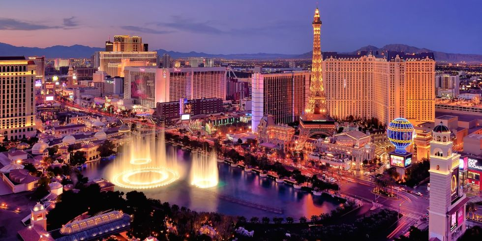 Flights to Las Vegas have a median price of $228.