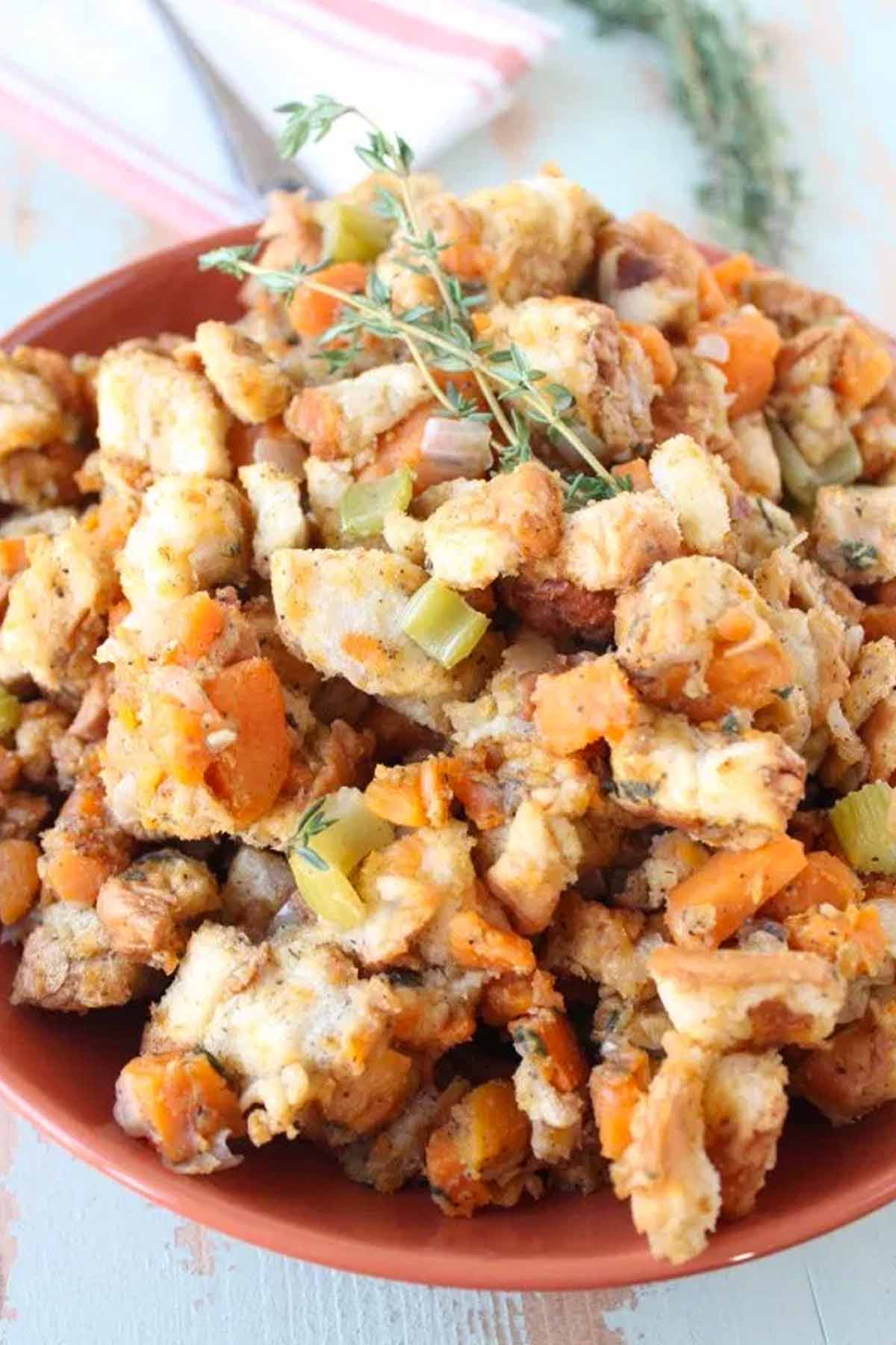 Easy Turkey Stuffing Recipes - Fresh Cranberry Stuffing