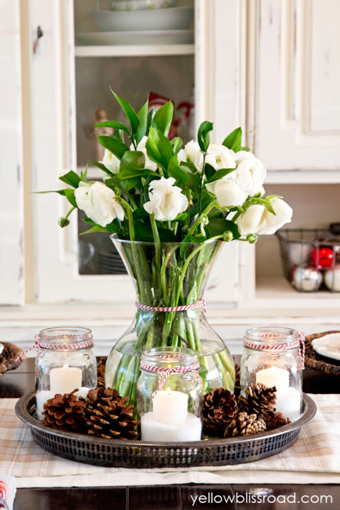 Christmas Table Decorations 32 christmas table decorations & centerpieces - ideas for holiday