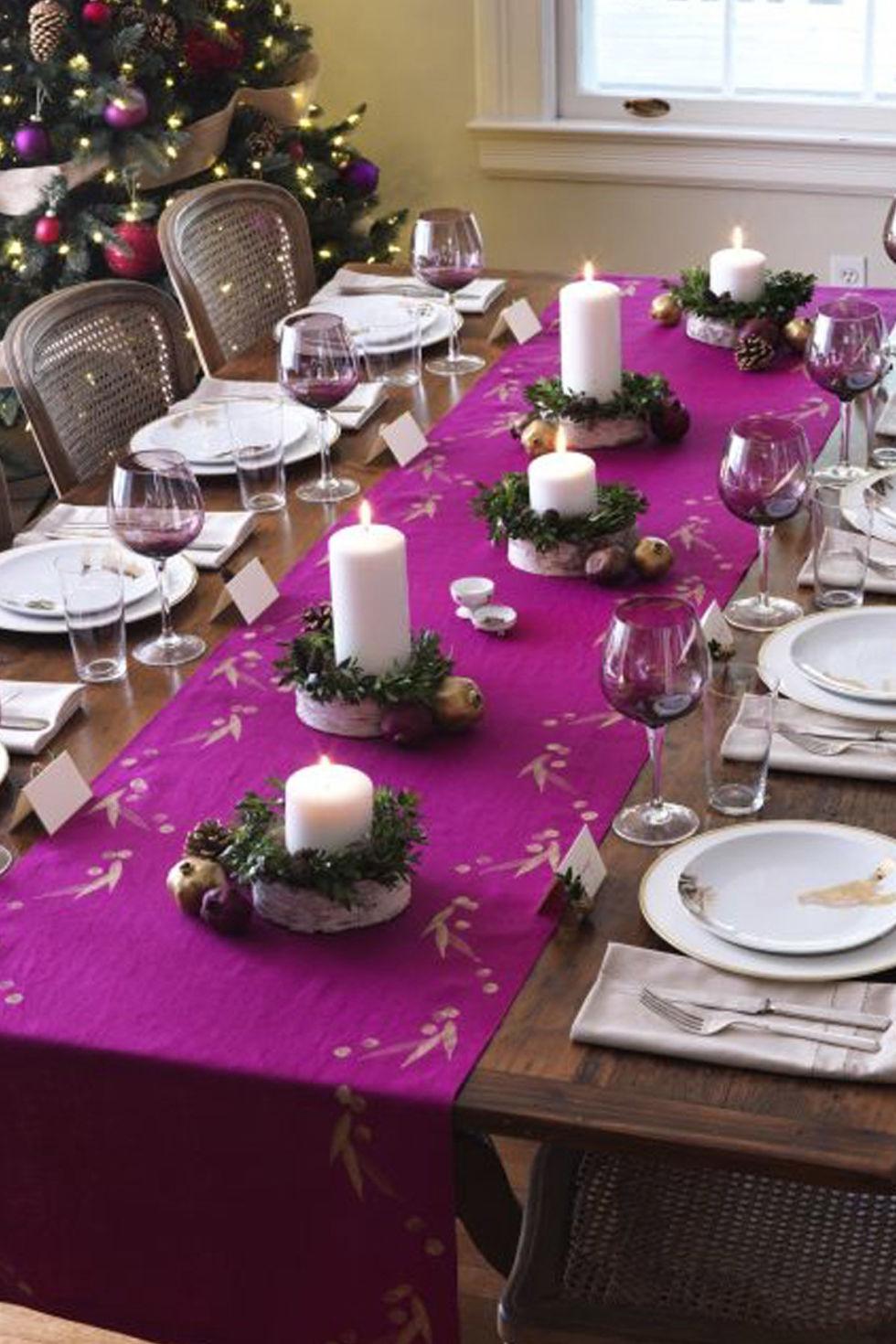 Как накрывать стол на новый год петуха 2017