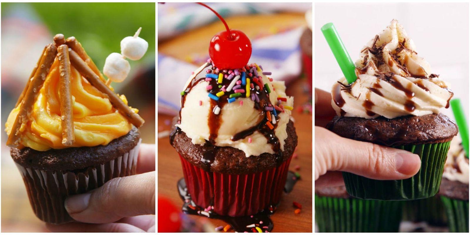 10 easy cupcake recipes for kids cute cupcake decorating ideas for kids - Creme decoration cupcake ...