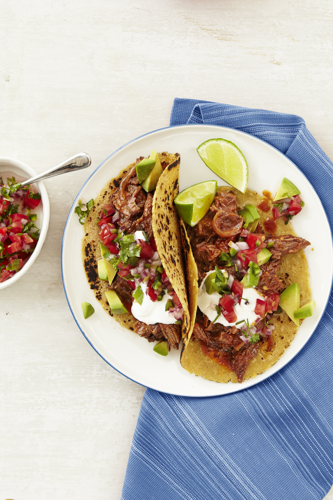 Best Chipotle Beef Tacos with Pico de Gallo Recipe - How ...
