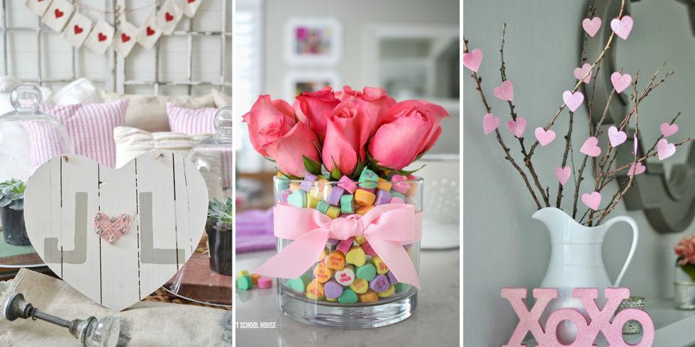 valentines day decorations - Valentines Day Centerpieces