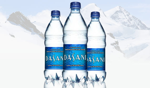 Dasani water distilled