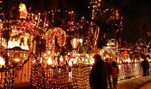 Crazy Outdoor Christmas Lights at WomansDay.com - Photos of ...