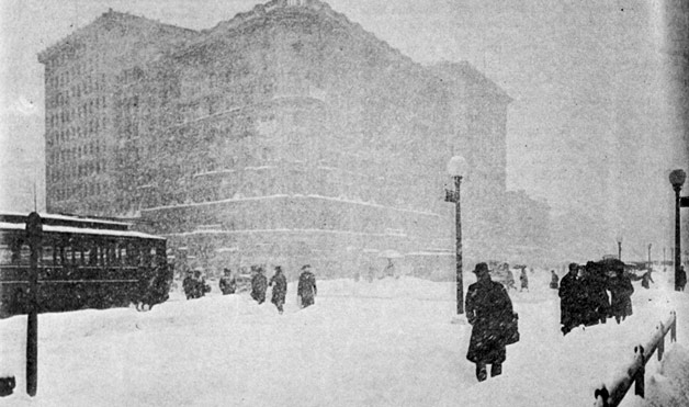 Big Snow Storms At Womansday Com Facts About Blizzards