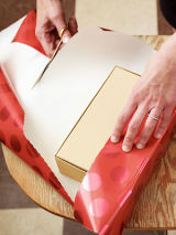 gift wrapping how to step by step instructions for