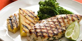 Grilled Mojo Chicken and Pineapple - Easy Chicken Recipes