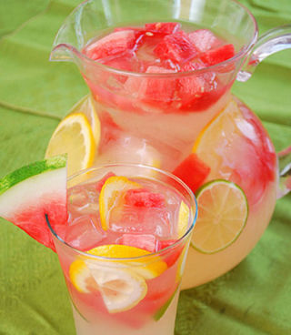 Cocktail party ideas easy drink recipes for Pitcher drink recipes for parties