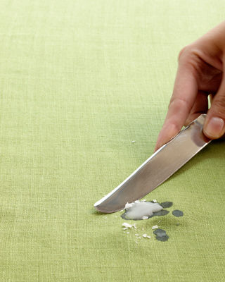 How to Get Wax Off a Tablecloth - How to Remove Candle Wax