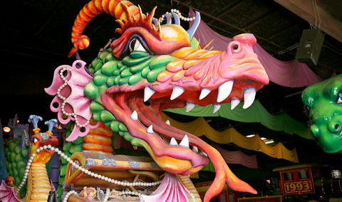 7 Marvelous Mardi Gras Floats and Decorations