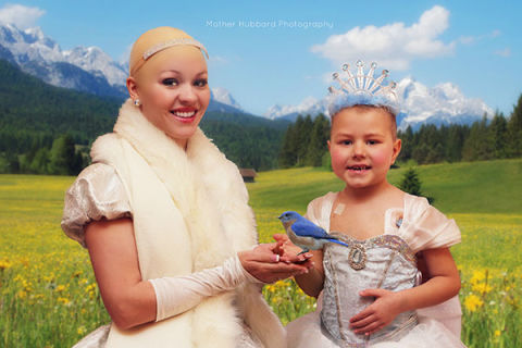 Heartwarming Photos Turn a Five-Year-Old Cancer Patient into a Fairytale Princess