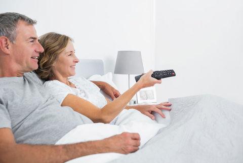 tv in bedroom relationship