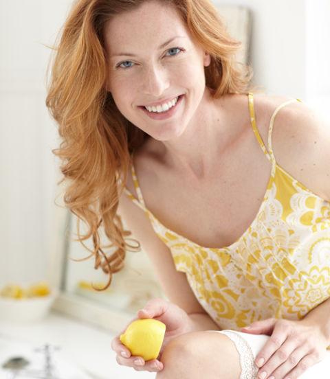 rough skin lemon and weight loss