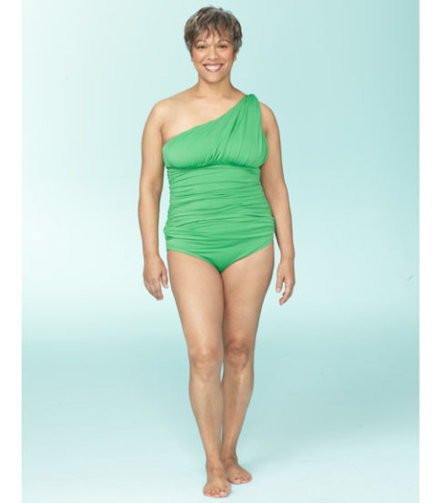 Figure Flattering Which Wedding Dress Style Suits Your: Swimsuits To Flatter Your Figure
