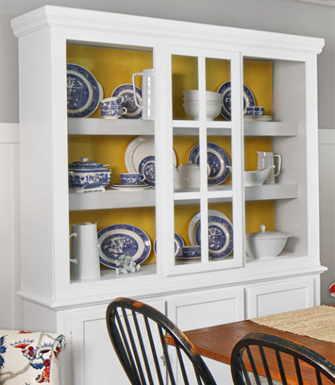 Modern Dining Room Hutch kitchen makeover - dining room ideas