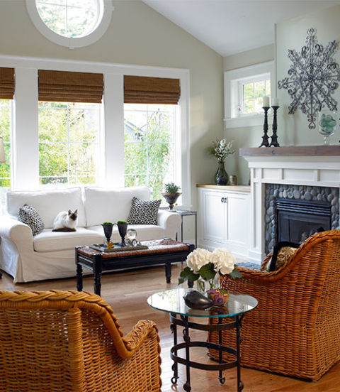 wicker furniture home free decorating ideas cheap home decorating tips