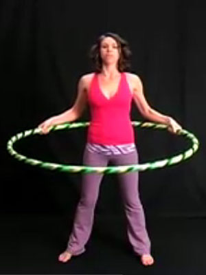 hula hoop workout hula hoop exercise video iv at woman 39 s day. Black Bedroom Furniture Sets. Home Design Ideas