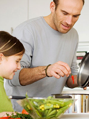 Essay on cooking dinner with dad