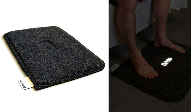 The Toughest Part About Waking Up For Many People Is Physically Getting Out  Of Bed. Luckily, The Carpet Alarm Clock Helps You Work Through The Hard  Part, ...