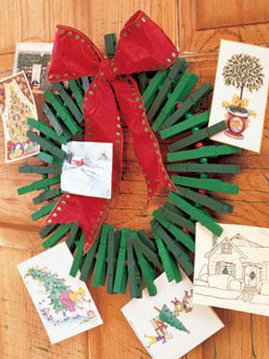 Homemade Christmas Card Holder – Holiday Craft Ideas on WomansDay.com