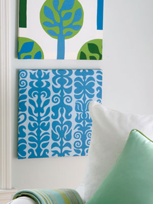 Get craft ideas for fabric artwork at find for Fabric arts and crafts ideas