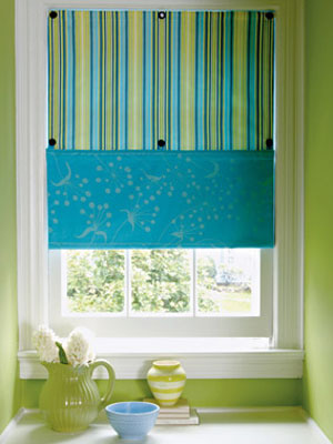 Learn how to make window shades at get a Simple window treatments