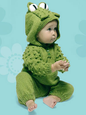 Knitting Pattern Baby All In One Suit : Knitting Project at WomansDay.com - Baby Knitting Project