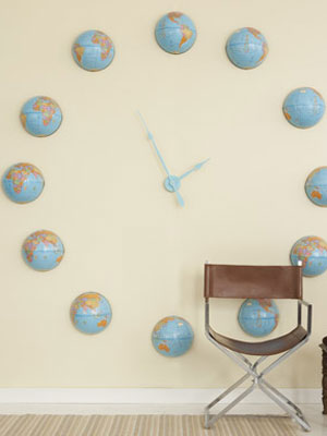 Make Your Own Clock at WomansDaycom How to Make a Wall Clock