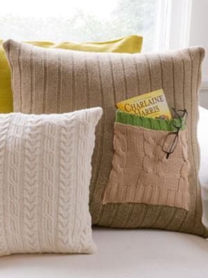 Diy Pillowcase With Pocket: Free Throw Pillow Patterns at WomansDay com   DIY Decor,