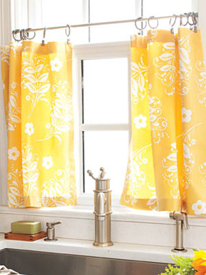 How to make kitchen curtains diy cafe curtains Window treatment ideas to make