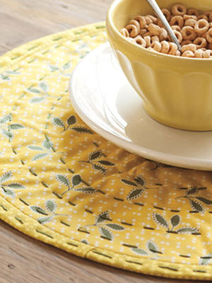 DIY Home DecoratingHow to Make Placemats at WomansDay.com