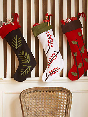 christmas crafts at womansday - christmas stocking ideas at