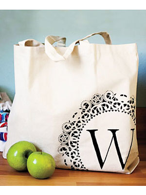 Craft Ideas - How to Make Your Own Personalized Tote Bag at ...