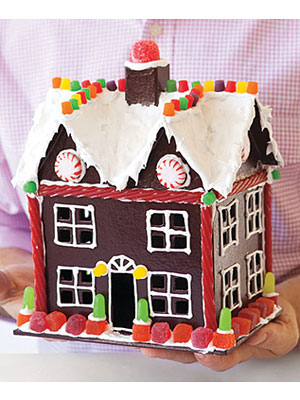 Gingerbread house art projects