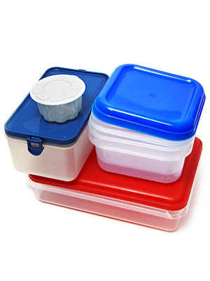 Shrink Your Food Container Pile