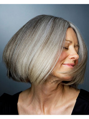 What causes gray hair how genetics effect gray hair at womansday