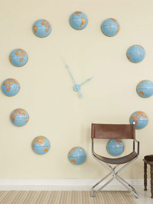 Diy Wall Murals diy wall clock projects at womansday - how to make your own clock