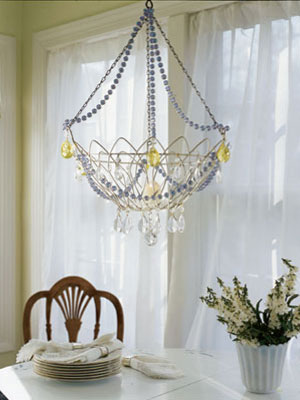 finding a vintage chandelier that wont shatter your budget may be more time consuming