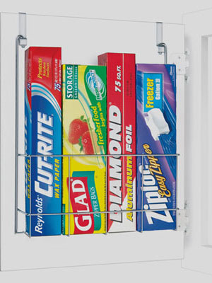 Plastic Wrap Baggies Kitchen Cabinet Organizer