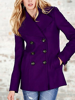 Purple Pea Coat Photo Album - Reikian