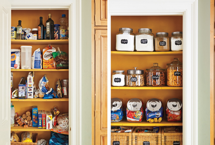 Organize Pantry Cheap : How To Organize Your Pantry Kitchen Organizing