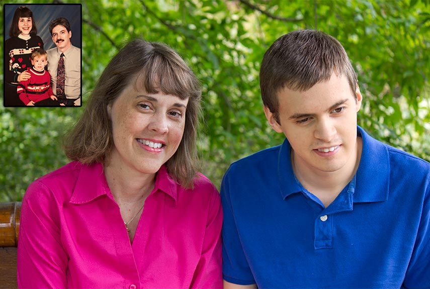 Adult son lying about who he is dating to parents