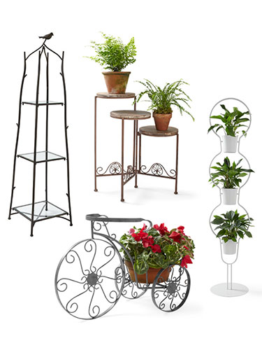 Decorative Plant Stands - Indoor and Outdoor Plant Stands