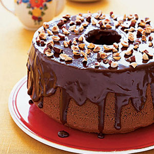 Chocolate Frangelico Bundt Cake