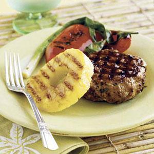 Island Pork Burgers Recipe